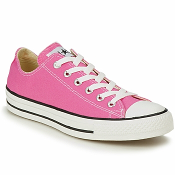 Converse ALL STAR CORE OX men's Shoes (Trainers) in Pink. Sizes available:10,11