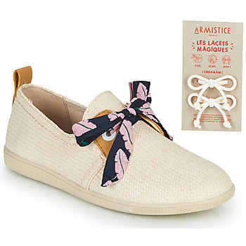 Armistice STONE ONE boys's Children's Shoes (Trainers) in Pink. Sizes available:10 kid,11.5 kid,13 kid