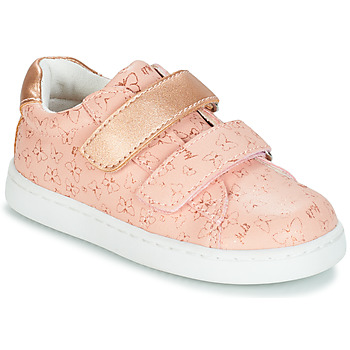 Mod'8 OUPAPILLON boys's Children's Shoes (Trainers) in Pink. Sizes available:3.5 toddler,6 toddler,7 toddler