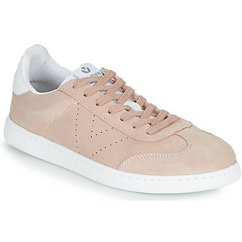 Victoria Tribu boys's Children's Shoes (Trainers) in Pink. Sizes available:8.5 toddler,9 toddler,10 kid,11 kid,11.5 kid,12.5 kid,13 kid,1 kid