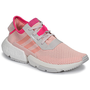 adidas POD-S3.1 J men's Shoes (Trainers) in Pink. Sizes available:3.5,4.5