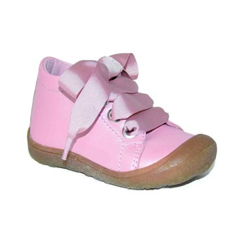Little Mary GOOD boys's Children's Shoes (High-top Trainers) in Pink. Sizes available:2 toddler,3 toddler,4 toddler,5 toddler,5.5 toddler,6 toddler