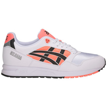 Asics Baskets Gel-Saga men's Shoes (Trainers) in Pink. Sizes available:8