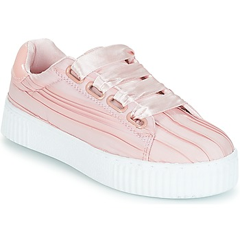 Vero Moda MANE SNEAKER women's Shoes (Trainers) in Pink. Sizes available:6.5